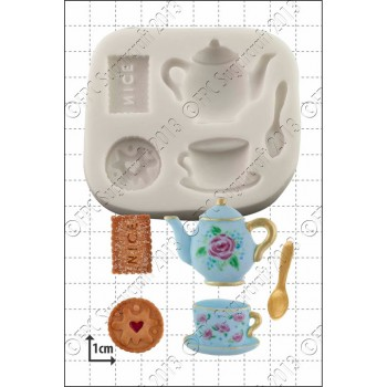 FPC Tea & Biscuits Silicone Moulds