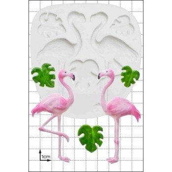 FPC 'Flamingos' Silicone Mould