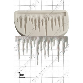 FPC Icicle Border Silicone Mould