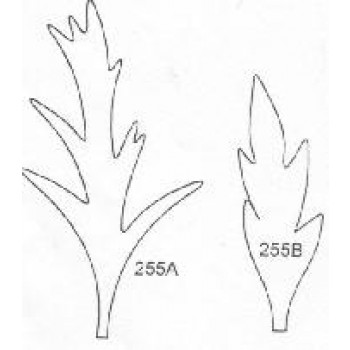 Framar cutters Poppy Leaves Set/2