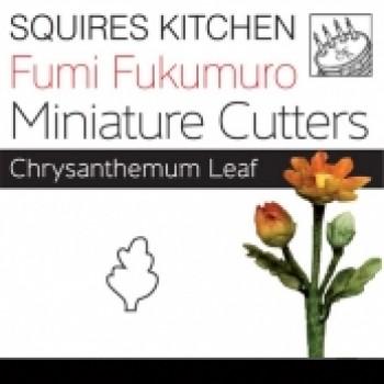 Fumi Fukumuro Miniature Crysanthemum Leaf
