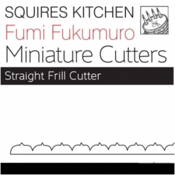 Fumi Fukumuro Miniature Straight Frill Cutter