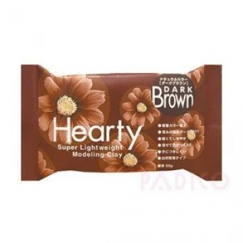Hearty Modelling Clay - Dark Brown