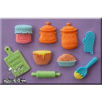 Alphabet Moulds - Home baking