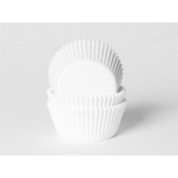 House of Marie Baking Cups Wit - pk/50