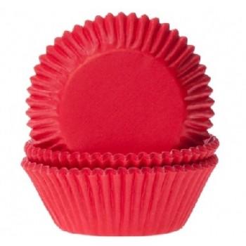 House of Marie Baking cups Red Velvet - Rood