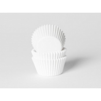 House of Marie Mini Baking cups Wit - pk/500