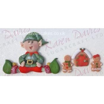 Karen Davies Sitting Elf