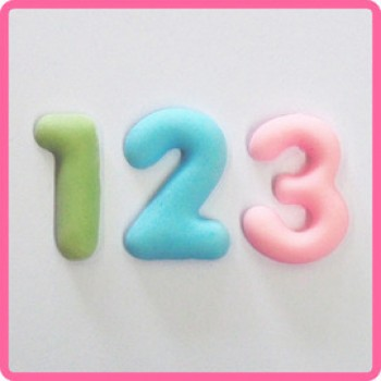Katy Sue Designs Mat Domed Numbers