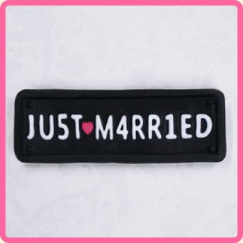 Katy Sue Designs - Just Married Car Plate