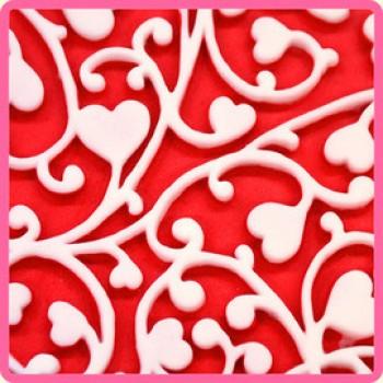 Katy Sue Designs - Design Mat Heart Vine