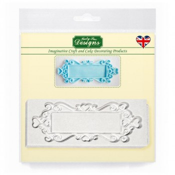 Katy Sue Designs Decorative Plaque Rectangle Hearts
