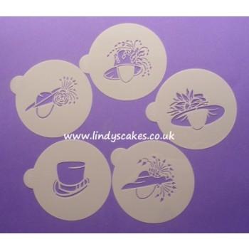 Lindy Smith Wedding Hat Stencils