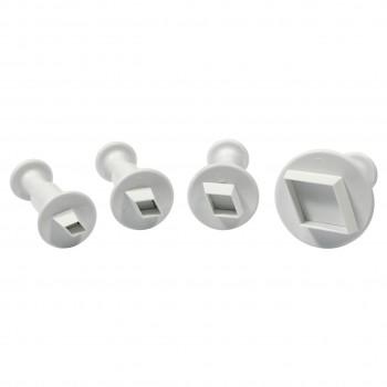PME Miniature Diamond Plunger Cutter Set/4
