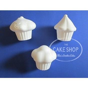 Styropor Cupcakes - set van 3