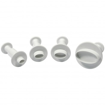 PME Miniature Oval Plunger Cutter Set/4