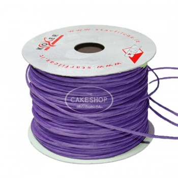 Paper covered wire Purple