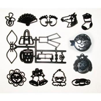 Patchwork Cutters Assorted Mini Set