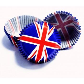 PME Red White & Blue Mini Baking Cases Pk/100