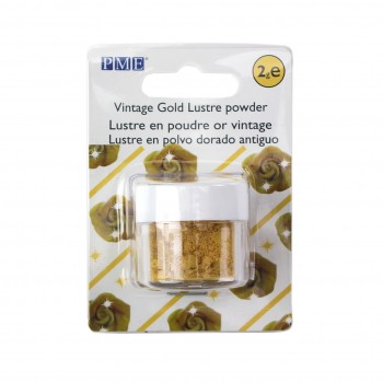 PME Lustre Powder Colour Vintage Gold