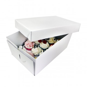 PME Cupcake Box (12) - 14cm high