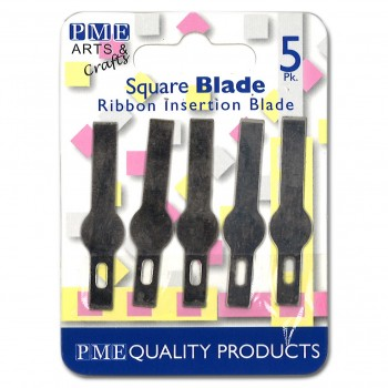 PME Spare Blades for Craft Knife Ribbon Insertion