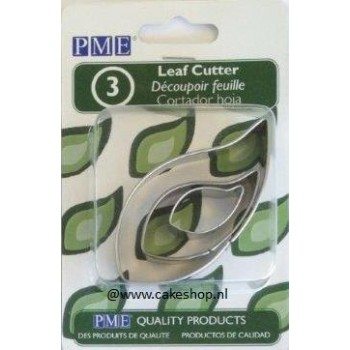 PME Stainless Leaf Cutter Set