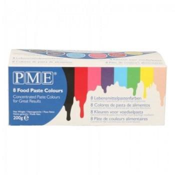 PME Paste Colours set/8