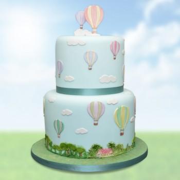 Patchwork Cutters Hot Air Balloons, Umbrella & Parachute