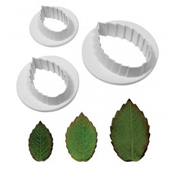 PME Rose Leaf Cutter set of 3