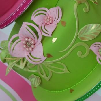 Sugar Artistry Fabric Flower Stencil Set
