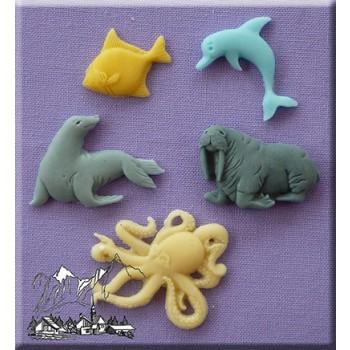 Alphabet Moulds - Sea Creatures