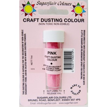 Sugarflair Craft Dusting Colour Non-Edible - Pink