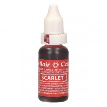 Sugarflair Edible Droplet Paint Scarlet