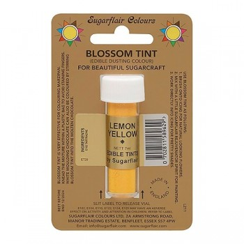 Sugarflair Blossom Tint Edible Dusting Colour - Lemon Yellow