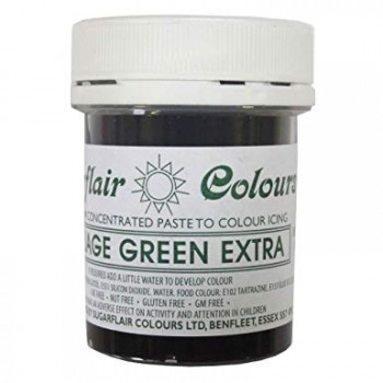 Sugarflair - Max Concentrated Paste Colour Foliage Green Extra