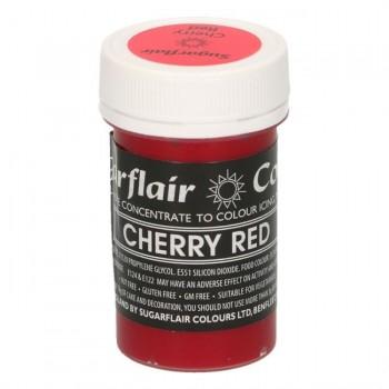 Sugarflair Pastel Cherry Red