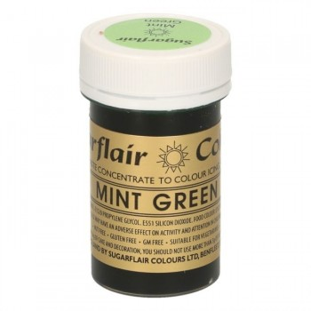 Sugarflair Spectral Mint Green