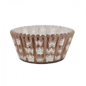 SK Gold Crown Cupcake Cases