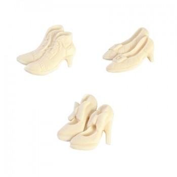 SK Great Impressions Mould Shoes 1 - Smooth with Bow
