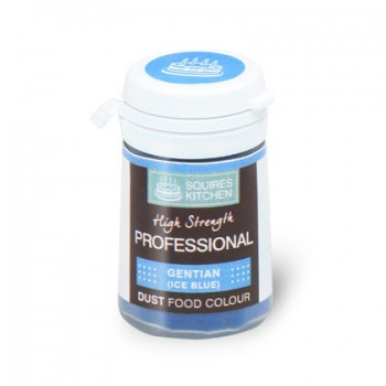 SK Professional Dust Food Colour Gentian (Ice Blue)