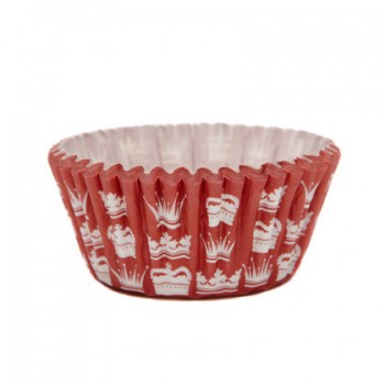 SK Red Crown Cupcake Cases