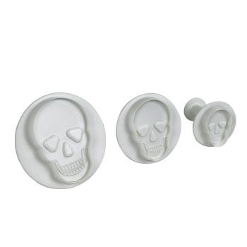 PME Skull Plunger cutter - Set of 3