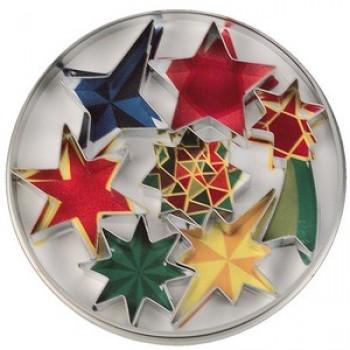 Städter 7 Star Cookie Cutter set