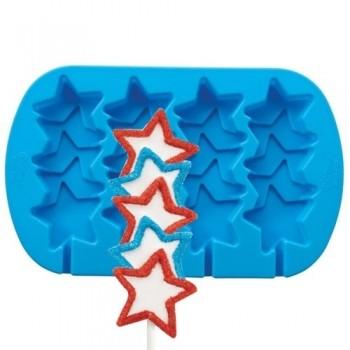 Wilton Star Pops Silicone Mold