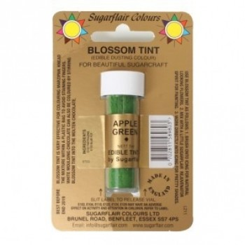 Sugarflair Blossom Tint Edible Dusting Colour - Apple Green