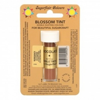Sugarflair Blossom Tint Edible Dusting Colour - Chocolate