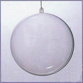 Transparante Plastic Deelbare Bal 160mm