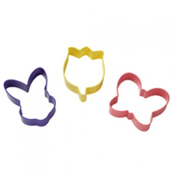 Wilton Coloured Metal Cutter Easter set/3