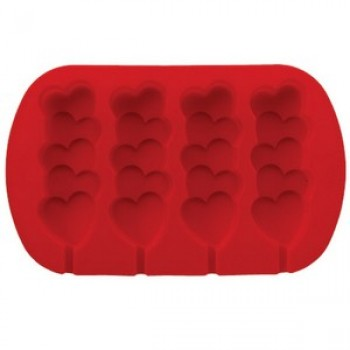 Wilton Heart Pops Silicone Mold